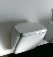 Axa one Serie 138 Wand-Tiefspül-WC, B: 400, T: 530 mm, weiss glänzend