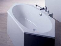 Hoesch Badewanne Armada 6-Eck 1800x800, weiß
