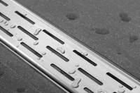 ESS Easy Drain Compact FF 100 cm, 30 mm Sperrwasserh., einteiliges Rost, EDCOMFF 1000-30