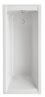 Acryl Badewanne Costa 1400x700 mm, weiß