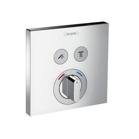 Hansgrohe ShowerSelect Mischer Unterputz, 15768000, für 2 Verbraucher , 15768000
