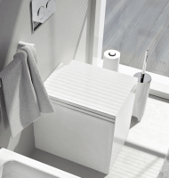 ArtCeram Block Stand-Tiefspül-WC, B: 360, T: 490 mm, weiss glänzend