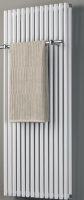 Design-Badheizkörper BL: 500 mm, BH: 1200 mm, Farbe: weiss