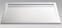 HSK Acryl Rechteck-Duschwanne super-flach 90 x 160 x 3,5 cm, mit integrierter Ablaufrinne