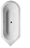 Bette Oval-Badewanne Starlet III 8370, 192x80x42 cm