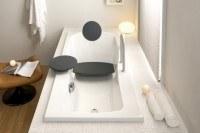 Hoesch Badewanne Modula 1800x800 Überlauf rechts m.