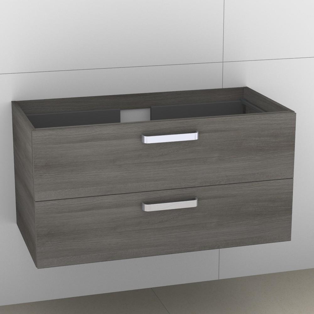 Image of Artiqua 414 Waschtischunterschrank mit 2 Auszügen, passend zu Venticello 4104AL, 4104AJ, B:95, T:48, 414-WU2L-V106-7070-401