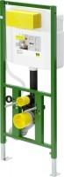 Viega WC Element Viega Eco Plus 8161.18, in 1130mm Stahl grün