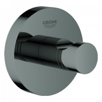 Grohe Bademantelhaken Essentials 40364 hard graphite, 40364A01