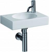Keramag Preciosa II Handwaschbecken 273240, B: 400, T: 280 mm 273240000, weiss