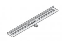 I-DRAIN Korpus Basic 57 mm Wand, 80cm,1Siphon waagr.DN40,Butylklebeband