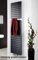 HSK Badheizkörper Atelier 603 x 1800 mm, Mittelanschluss, Farbe: silber
