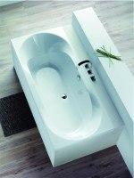 Hoesch Badewanne Spectra 1800x800, pergamon
