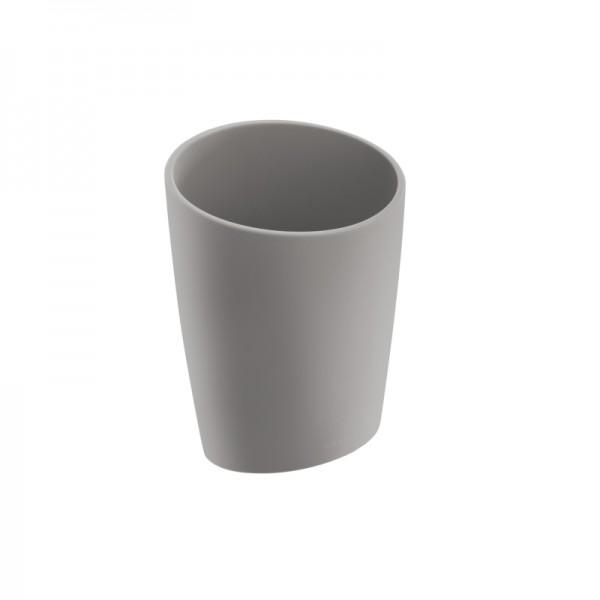 Cosmic Saku Wand-Zahnbürstenhalter 11x13x8 cm, Grau Soft, 2522852