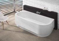 Hoesch Badewanne Happy D. 1800x800 mit Schürze,