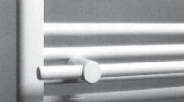 Neuesbad.de Handtuchhalter 600 mm für Badheizkörper 750 mm
