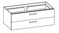 """Artiqua COLLECTION 414 Waschtischunterschrank zu""""Subway 2.0""""7176D0 B:1250mm"""