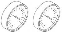 Hoesch Thermometer 0-120 Grad C für