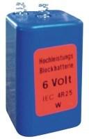 Konto Diverse A Blockbatterie 4R25 Spannung 6V,