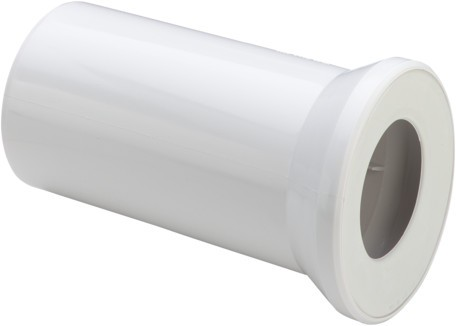 WC Anschlussstutzen 3815 in 400mm Kunststoff moosgrün 133955