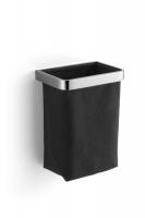 Giese Gästehandtuchkorb mit Stoffeinsatz schwarz, 40500-02