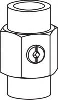 Mepa Sanicontrol Kugelhahn, G1/2 für SC 620 und SC 820, 710983