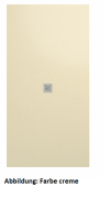 Fiora Elax flexible, elastische Duschwanne, Breite 80 cm, Länge 120 cm, Schiefertextur