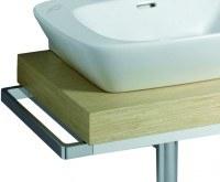 Keramag Handtuchhalter Silk 516045, B: 430 mm, 516045000, verchromt