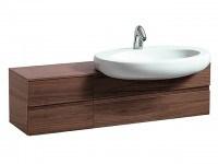Laufen Waschtischunterbau Il Bagno Alessi One 1200x350x332, Noce Canaletto, 42415.2, 4241520976301