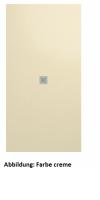 Fiora Elax flexible, elastische Duschwanne, Breite 145 cm, Länge 145 cm, Schiefertextur
