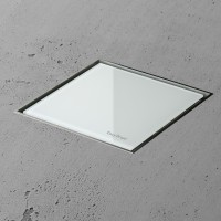 Aqua Jewels Quattro MSI-1 10x10 cm Glas Weiss matt