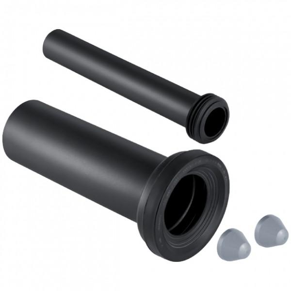 Geberit PE Anschlussgarnitur für Wand-WC, Durchmesser: 9 cm, Länge: 30 cm