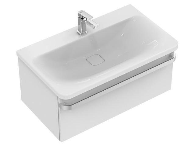 ideal standard waschtisch unterschrank tonic ii 1 auszug r4303wg 800x440x350mm hochglanz wei lac. Black Bedroom Furniture Sets. Home Design Ideas