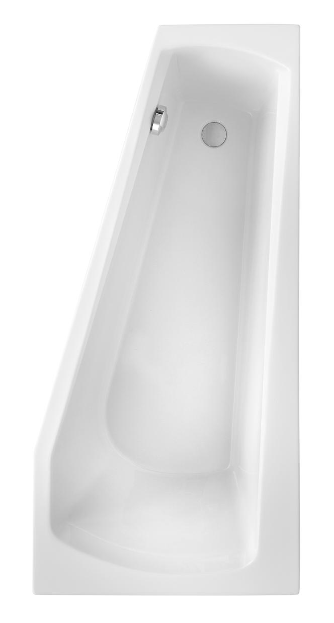 Image of Acryl Badewanne Bahia Model A 1600x750 mm, weiß
