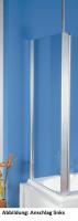 HSK Exklusiv Seitenwand, passend zu Badewannenaufsätzen Exklusiv