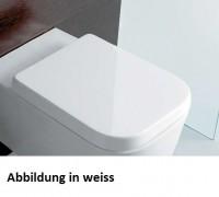 Globo Stone WC-Sitz mit Absenkautomatik, SS026, schwarz matt
