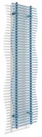 Caleido sea zweilagig Badheizkörper B: 676 mm x H: 1833 mm
