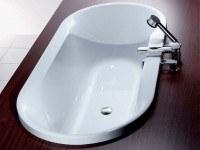 Hoesch Badewanne Spectra oval 1800x900, weiß