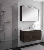 Neuesbad Serie 200 Badmöbelset B:1000 mm, mit Spiegelschrank