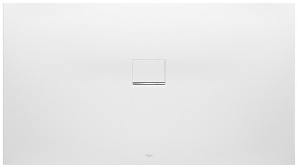 Villeroy & Boch Squaro Infinity (1010SQI1) 1000x1000x40mm Quaryl Stone White, UDQ1010SQI1V-RW