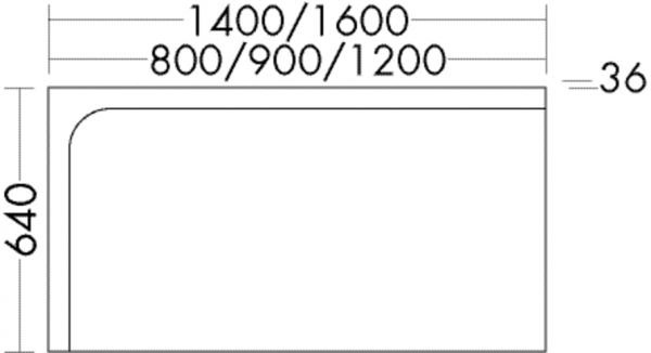 Burgbad Leuchtspiegel Sinea 640x900x36 Sinea Thermo, SICL090L312