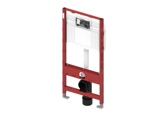 TECEprofil WC-Modul mit Uni-Spülkasten mit Hygienespülung, Bauhöhe 1120 mm, 9300100