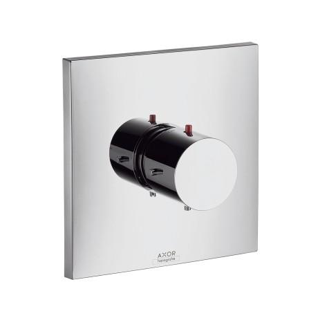 Hansgrohe Thermostatmischer Unterputz Axor Starck X Fertigset chrom, 10716000