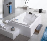 Hoesch Badewanne Santee 1900x1200, pergamon