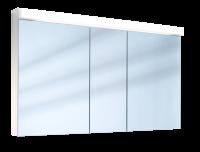 Schneider Spiegelschrank Lowline 130/3/LED, 1x29W LED 1300x770x120 weiss, 151.330.02.02
