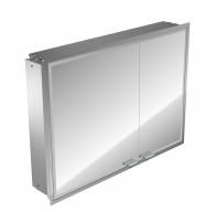 Emco asis LED-Lichtspiegelschrank Prestige, Unterputz, 815 mm, ohne Radio, BTL, Farbwechsel, 9897060