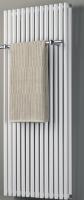 Design-Badheizkörper BL: 600 mm, BH: 1200 mm, Farbe: silber