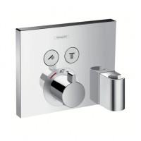 Hansgrohe Thermostat Unterputz ShowerSelect, 15765000, für 2 Verbraucher Fertigset 2 Verbraucher chr