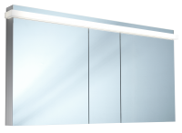 Schneider Spiegelschrank Taikaline/150/3/LED, 1x52W 1500x785x120 alueloxiert, 158.150.02.50