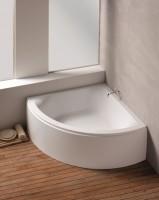 Hoesch Badewanne Scelta Eck 1500 mit angeformter